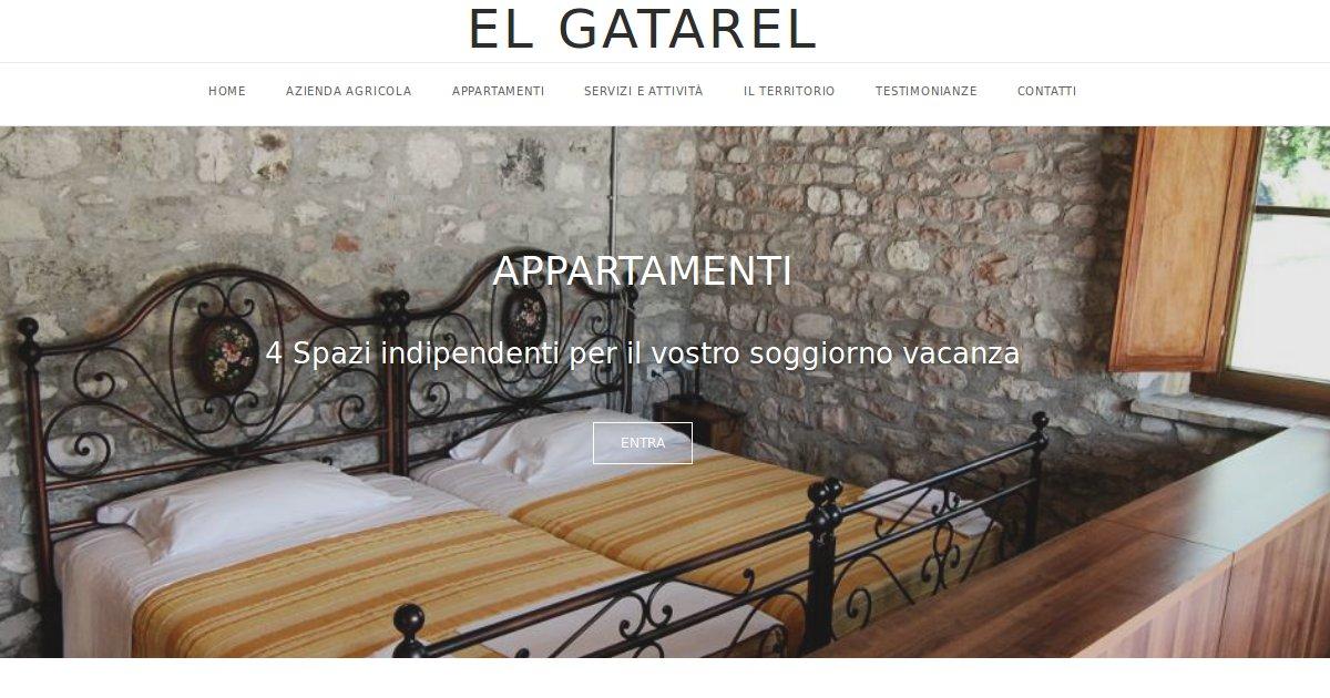 Nuovo sito di el gatarel è on line